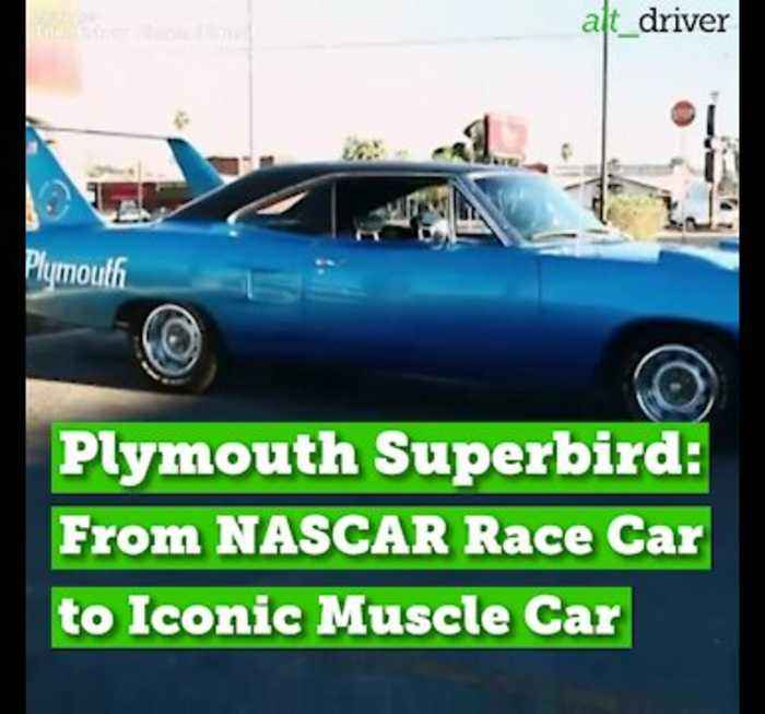 Plymouth Superbird: From NASCAR Race Car to Iconic Muscle Car