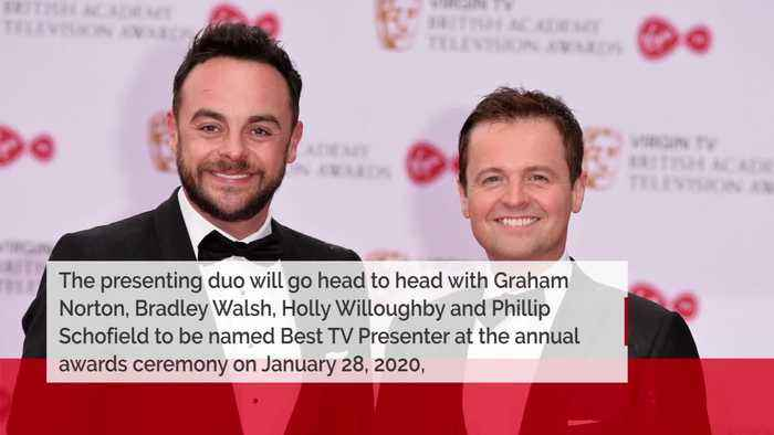 Ant + Dec nominated for 19th National Television Award