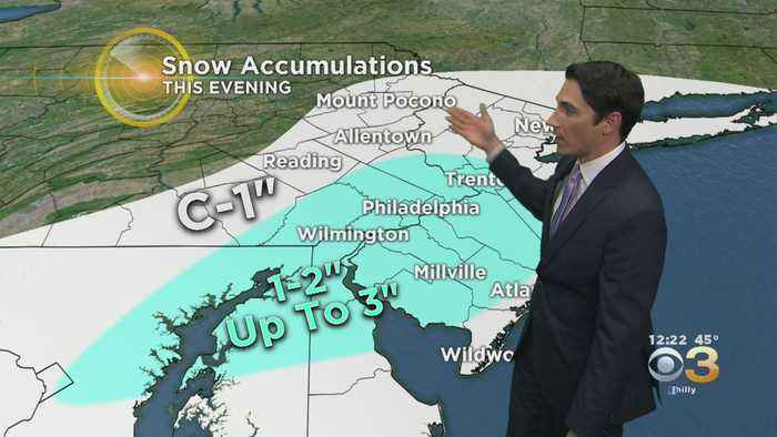 Midday Weather Update: Monitoring A Tough Evening Commute