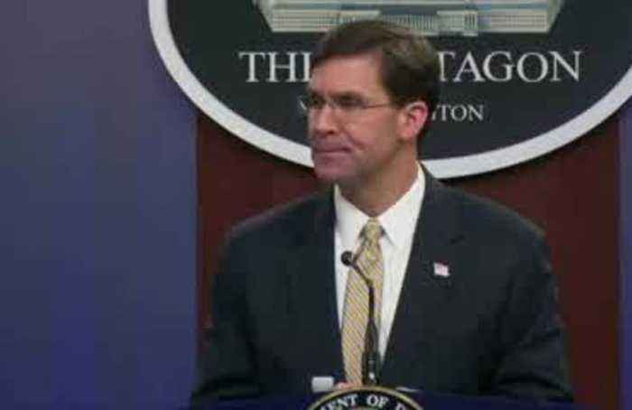 There are 'hurdles' to overcome before U.S. troops pull out of Iraq - Esper