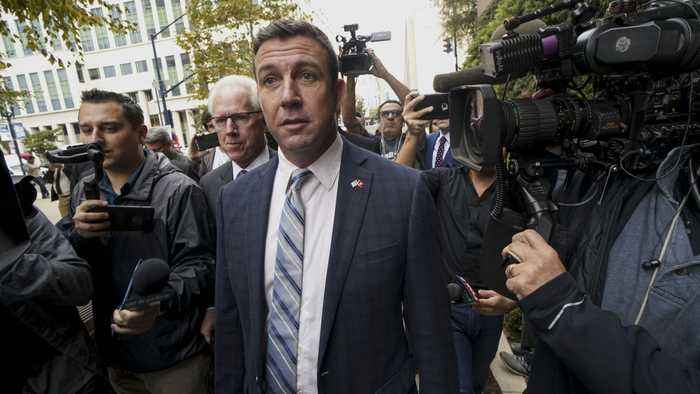 U.S. Rep. Duncan Hunter Submits His Resignation