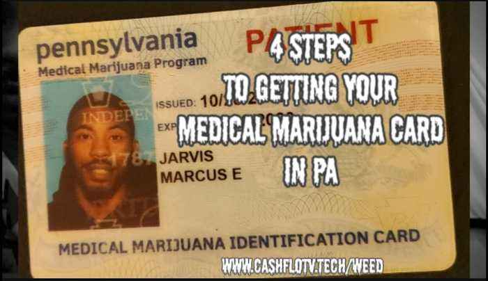How To Get Your Medical Marijuana Card In PA in 4 Steps