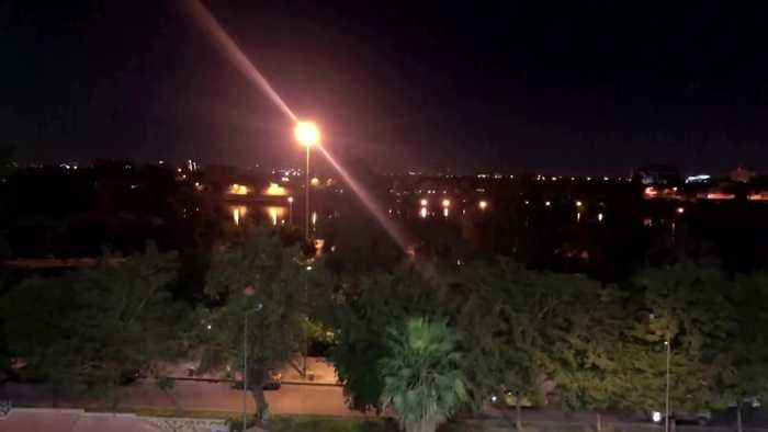 Sirens after rockets fall inside Iraq's Green Zone