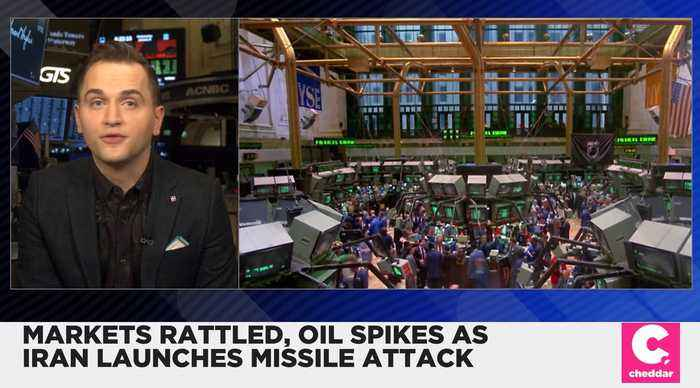 Markets Slip After Iran's Missile Attack
