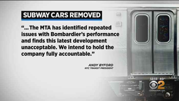 300 Brand New Subway Cars Pulled From Service Over Safety Concern