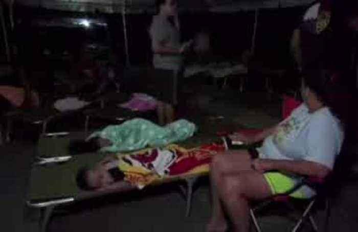 Earthquake forces terrified Puerto Ricans to sleep outside