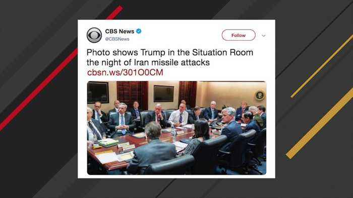 Internet Reacts To White House's Situation Room Photo After Iran Missile Attacks