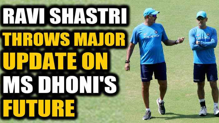 Ravi Shastri Throws Major Update on MS Dhoni's future in Team India | Oneindia News