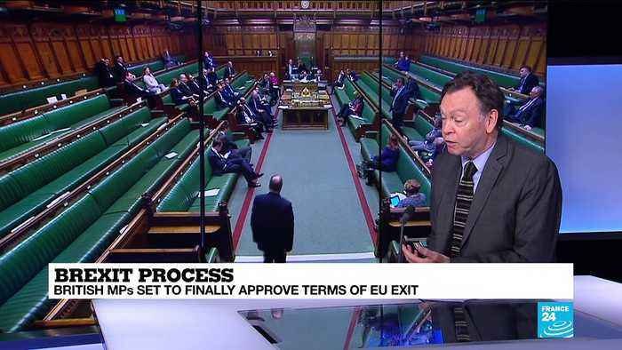 Suspense of Brexit disappears as British MPs prepare to approve terms of the UK's exit