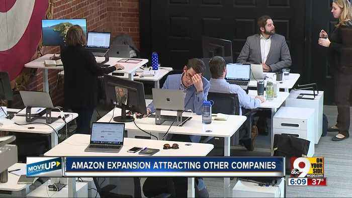 Companies moving to Cincy to be closer to Amazon air hub