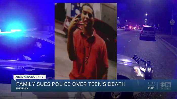 Family sues police over teen's death