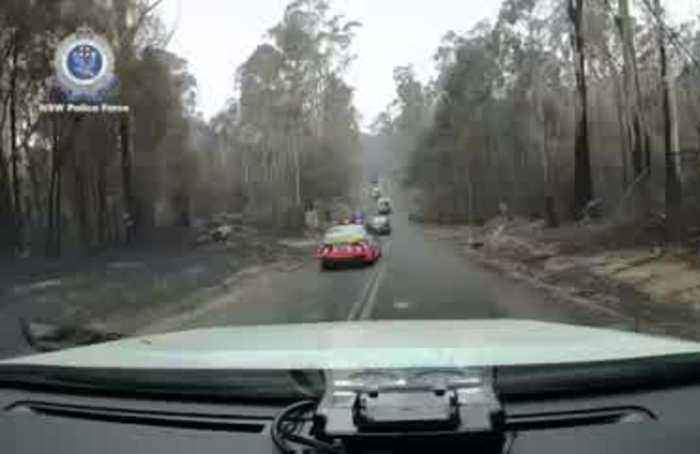 Australia calls for another mass evacuation as monster bushfires return