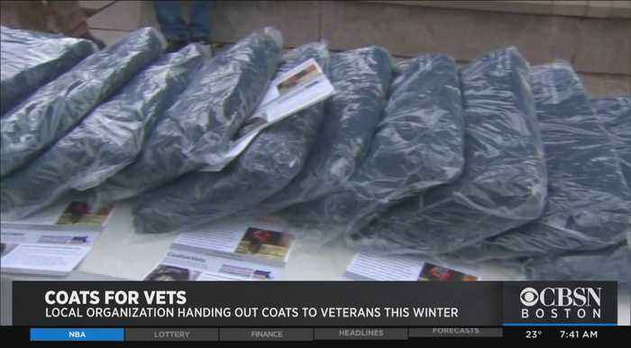 Local Organization Handing Out Coats To Veterans This Winter
