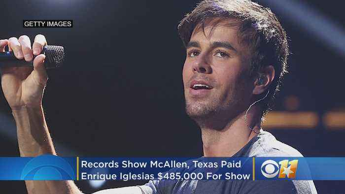 Records Show Texas City Paid Enrique Iglesias $485,000 To Perform At 2015 Holiday Concert