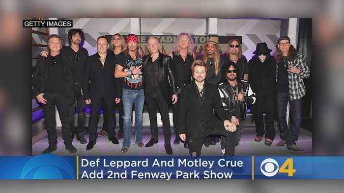 Def Leppard And Motley Crue Add 2nd Fenway Park Show
