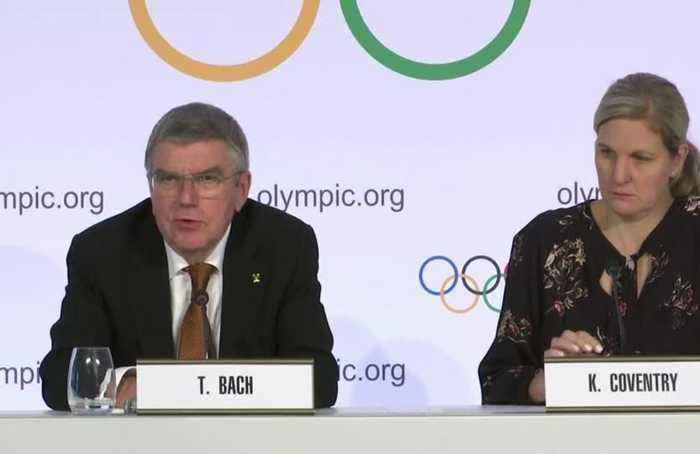 Keep politics out of 2020 Tokyo Games, says IOC's Bach