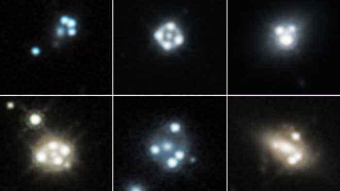NASA's Hubble Telescope Detects Smallest Known Dark Matter Clumps