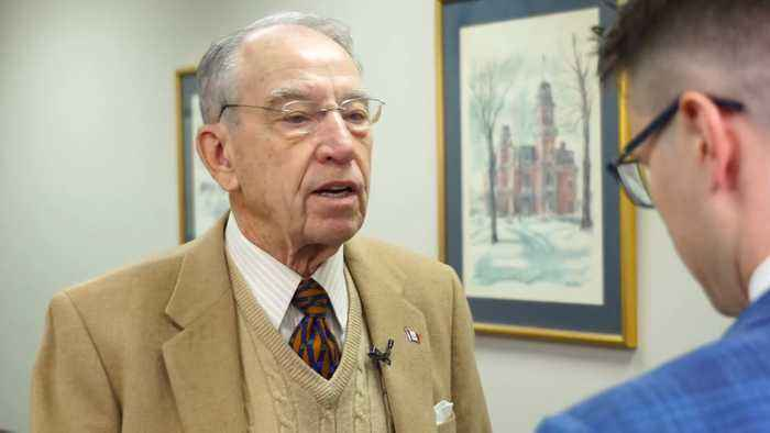 Exclusive: Grassley Admits That Crucial USMCA Trade Deal Takes Backseat to Impending Senate Trial
