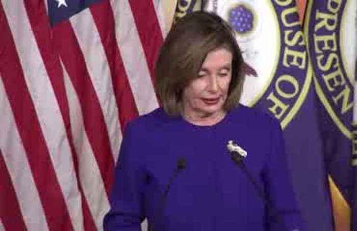Pelosi will send impeachment articles 'when I'm ready'