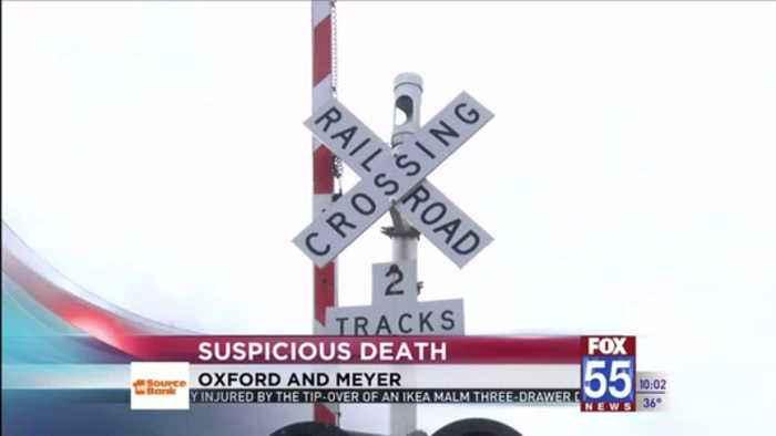 Death of man found near Fort Wayne railroad tracks considered suspicious