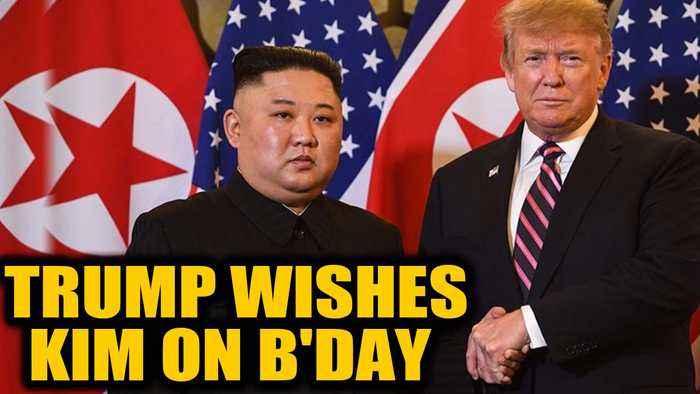 US President Donald Trump wishes North Korean leader Kim Jong-un on his birthday Oneindia