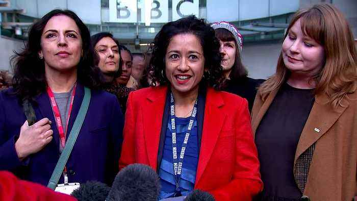Samira Ahmed statement after winning BBC equal pay tribunal