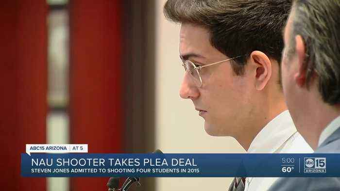 NAU shooter Steven Jones pleads guilty to manslaughter
