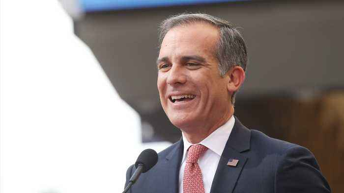 Los Angeles Mayor Garcetti Endorses Biden For President