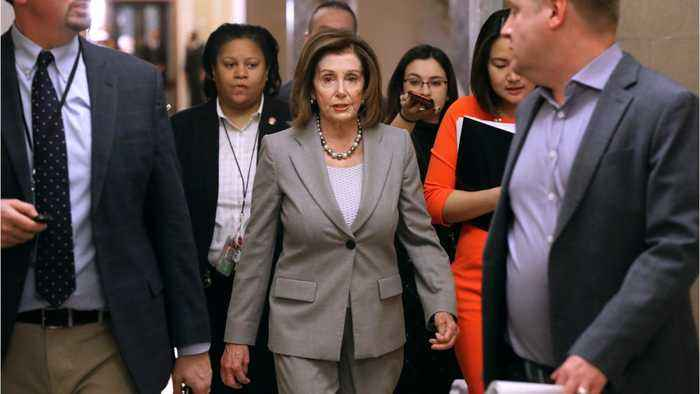 Pelosi will send Trump impeachment to Senate next week