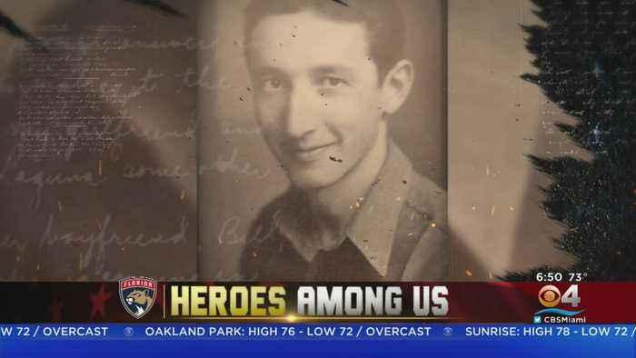 Heroes Among US; World War II Veteran Arnie Kann.