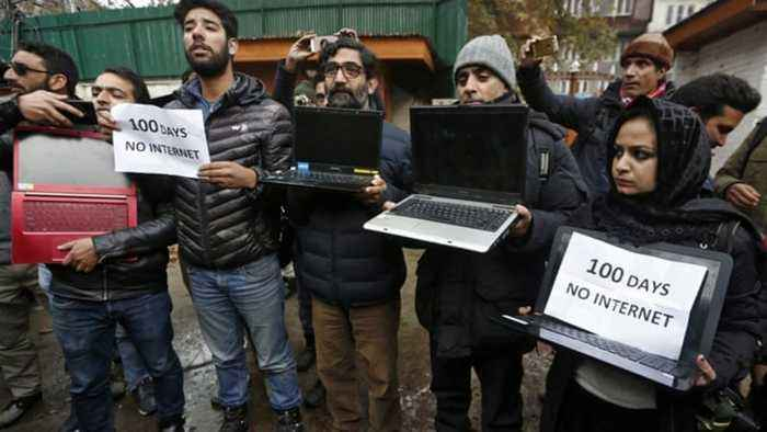 India's top court orders review of Kashmir internet shutdown
