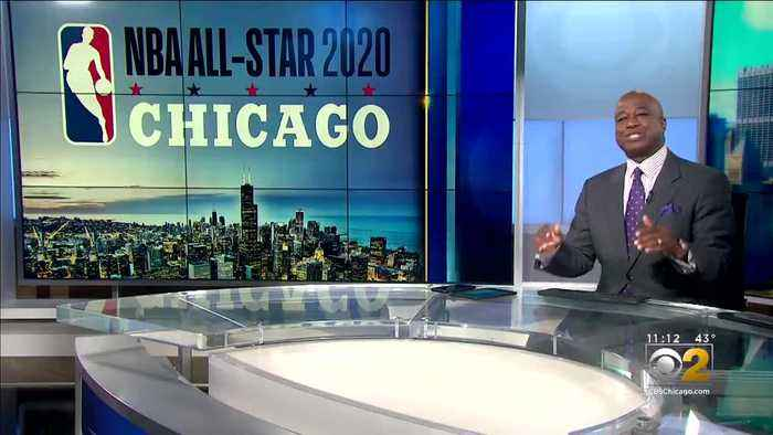 Retired Bulls Star Horace Grant In Chicago To Promote NBA All-Star Festivities