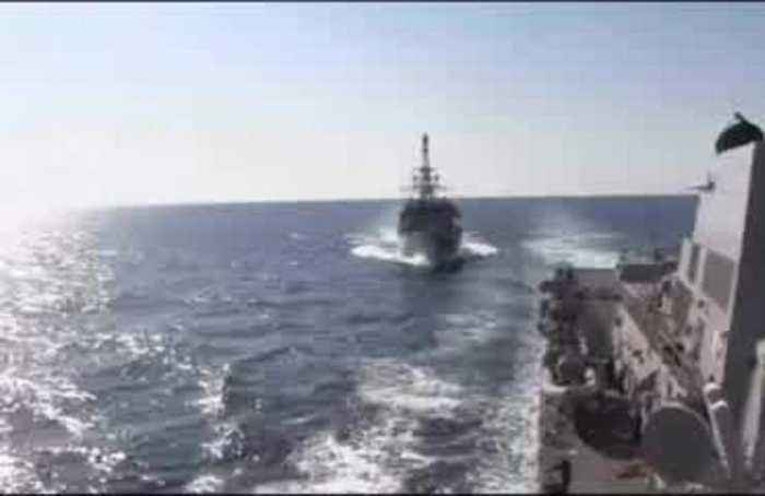 Russian ship 'aggressively' approaches destroyer: U.S. Navy