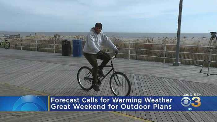 Warm Weather Forecast Has Many People Making Outdoor Plans