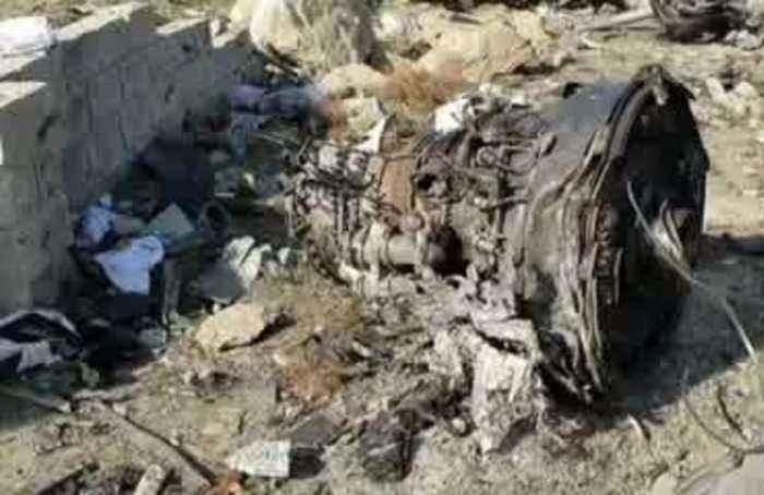 New videos show aftermath of Ukrainian plane crash in Iran