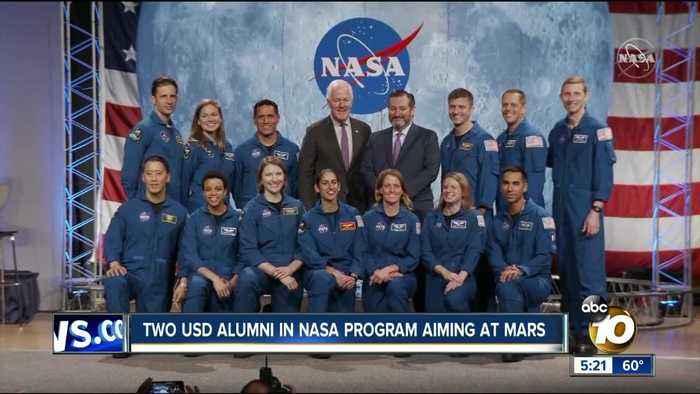 Two USD alumni become NASA astronaut candidates