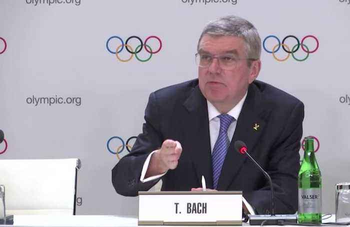 Bach hoping for quick, unambiguous ruling from CAS in Russia doping case