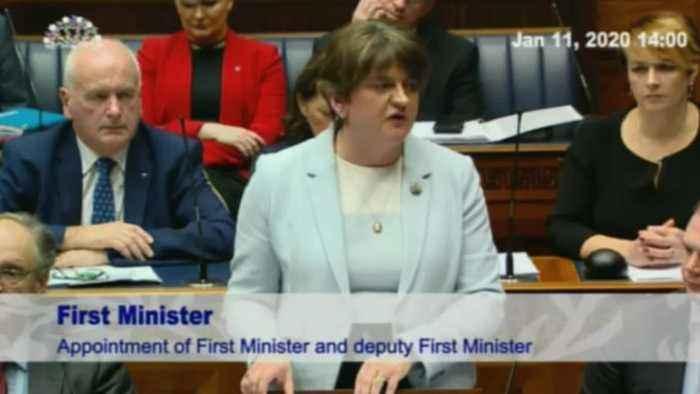 Powersharing returns to Northern Ireland Assembly