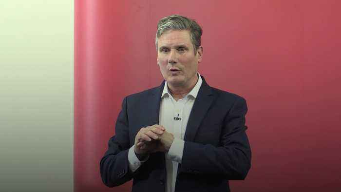 Sir Keir Starmer launches Labour leadership bid