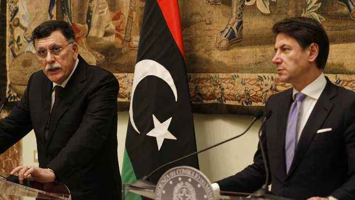 Russia and Turkey push for ceasefire in Libya