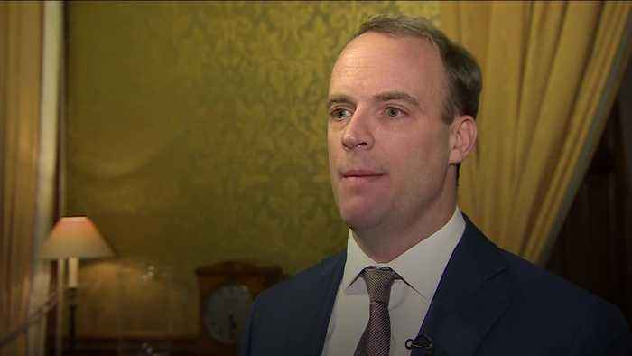 Raab accuses Iran of violating international law after UK ambassador arrested