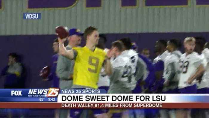 Dome Sweet Dome for LSU: Death Valley 81.4 miles from Superdome