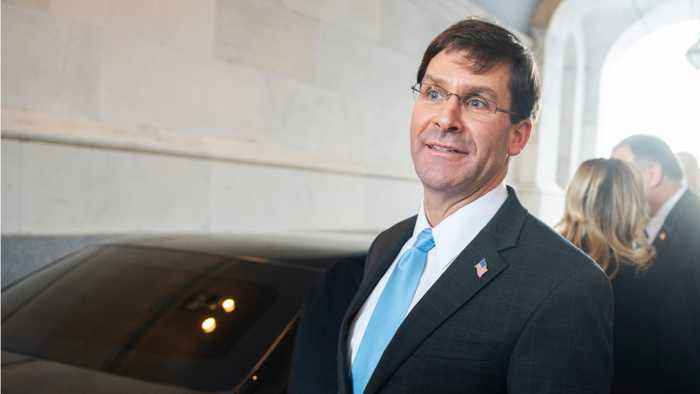 Defense Secretary Mark Esper admits to not seeing specific evidence regarding Qassem Soleimani