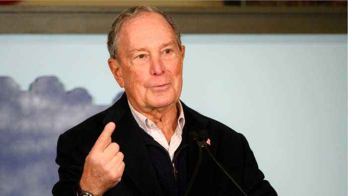 Michael Bloomberg defends spending so much money in presidential race