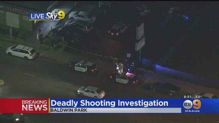 1 Dead, 1 Wounded In Baldwin Park Shooting