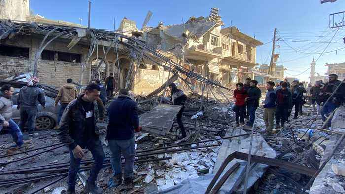 Syria's ceasefire comes into force in Idlib province