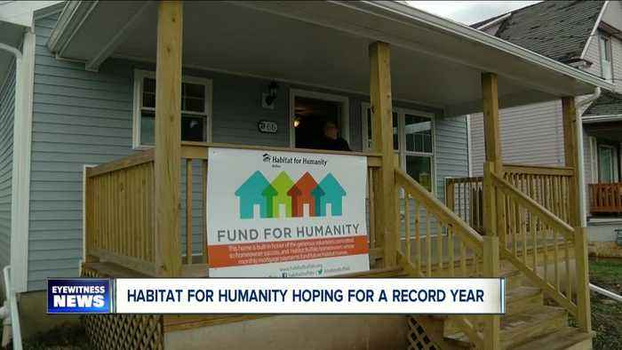 Habitat for Humanity hoping for a record year