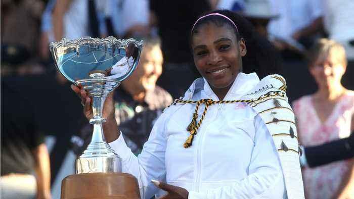Serena Williams Breaks Losing Streak With Win In New Zealand