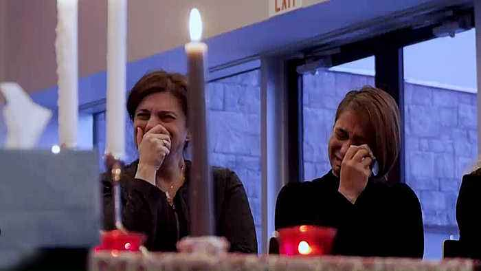 Families of victims mourn in Canada