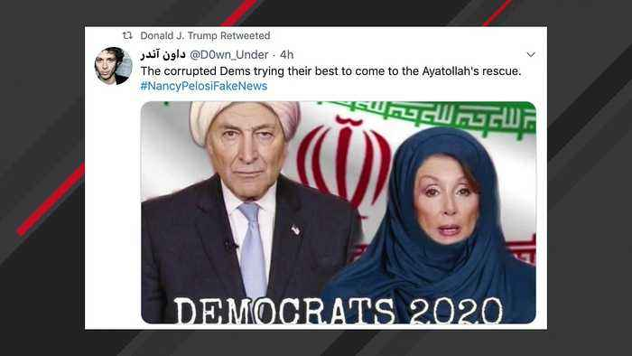 Trump Shares Image Showing Pelosi, Schumer In Islamic Clothing